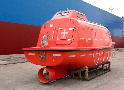 SOLAS free fall lifeboat,survival life boat for ship