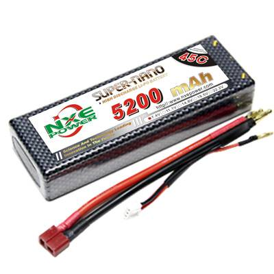 NXE5200mAh-45C-7.4V Softcase RC Car Battery