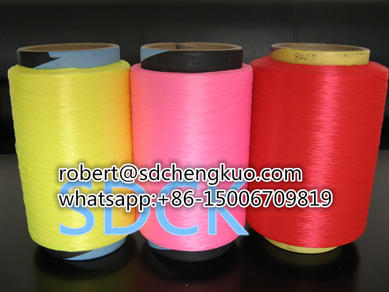 900d color pp yarn polypropylene yarn