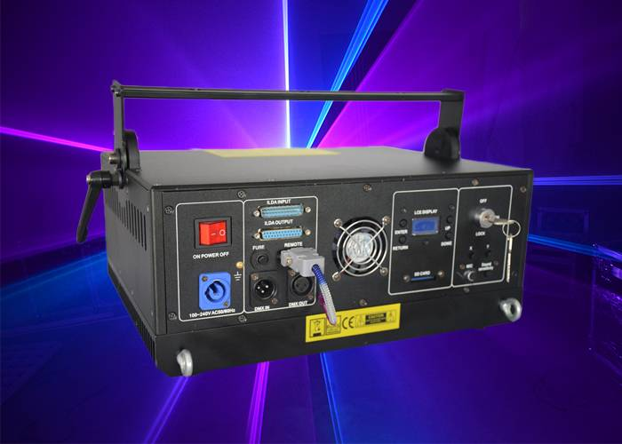 Full Color Animation Laser Light , DMX Controller Laser Display System