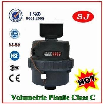 Volumetric Plastic Body Class C Water Meter LXH-15S-20S