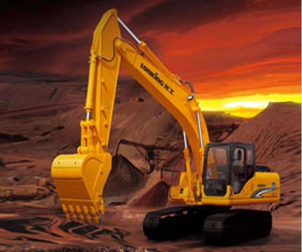 China construction machinery LONGGONG hydraulic crawler excavator for sale