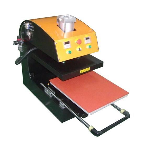 Pneumatic Single Station Drawer Heat Press Machine