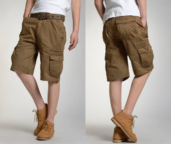 Men's custom popular baggy cargo shorts(MsC2003)