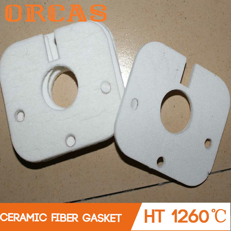 Orcas high temperature insulation ceramic fiber gasket paper