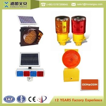 Hot Sale Portable Warning Solar Traffic Light