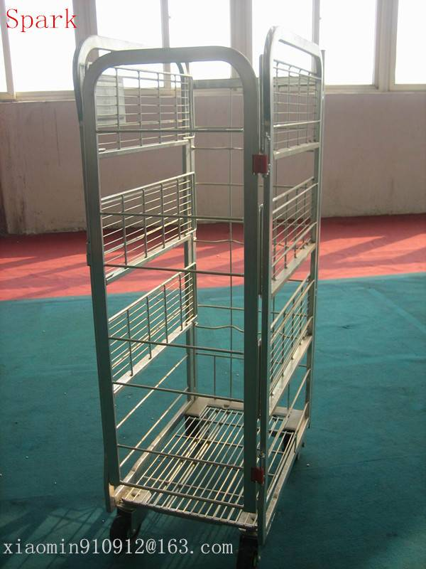 4-sided Milk Trolley Cage