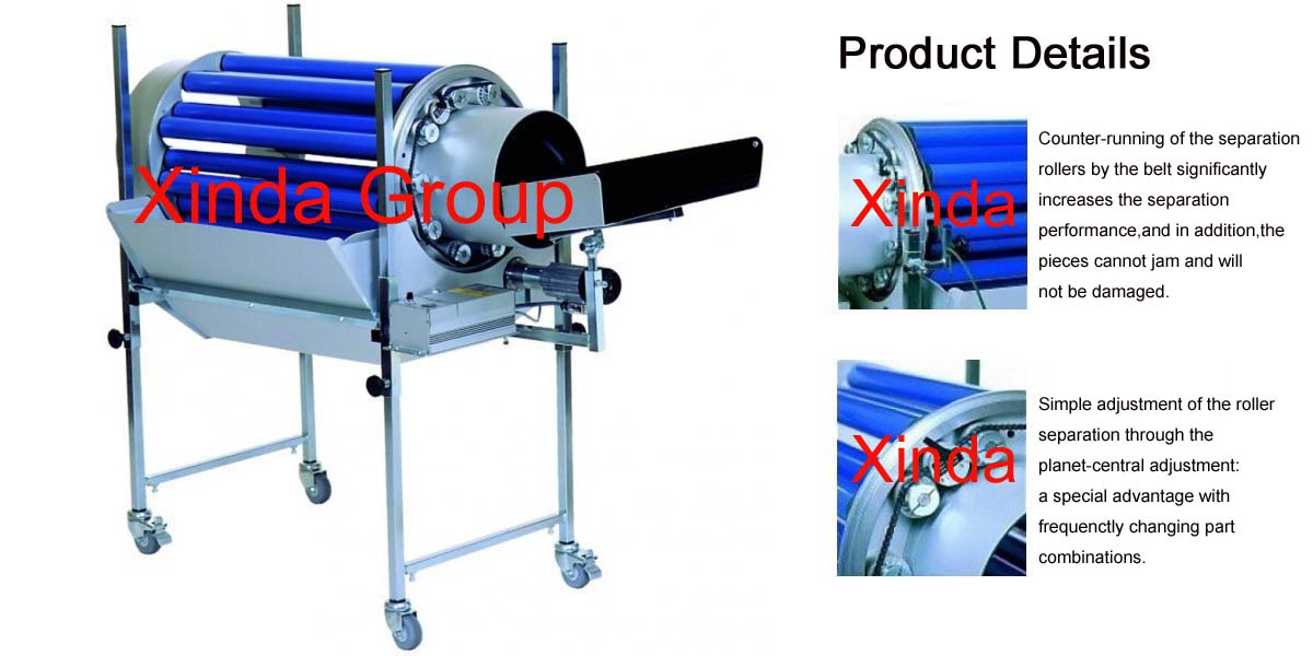 Rotary Drum Separator for Solid