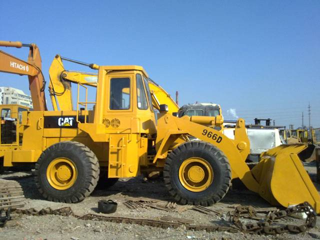 used 966D CATERPILLAR wheeled loader