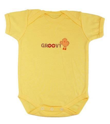 baby short sleeve body suit