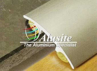 Aluminum tile edging profile