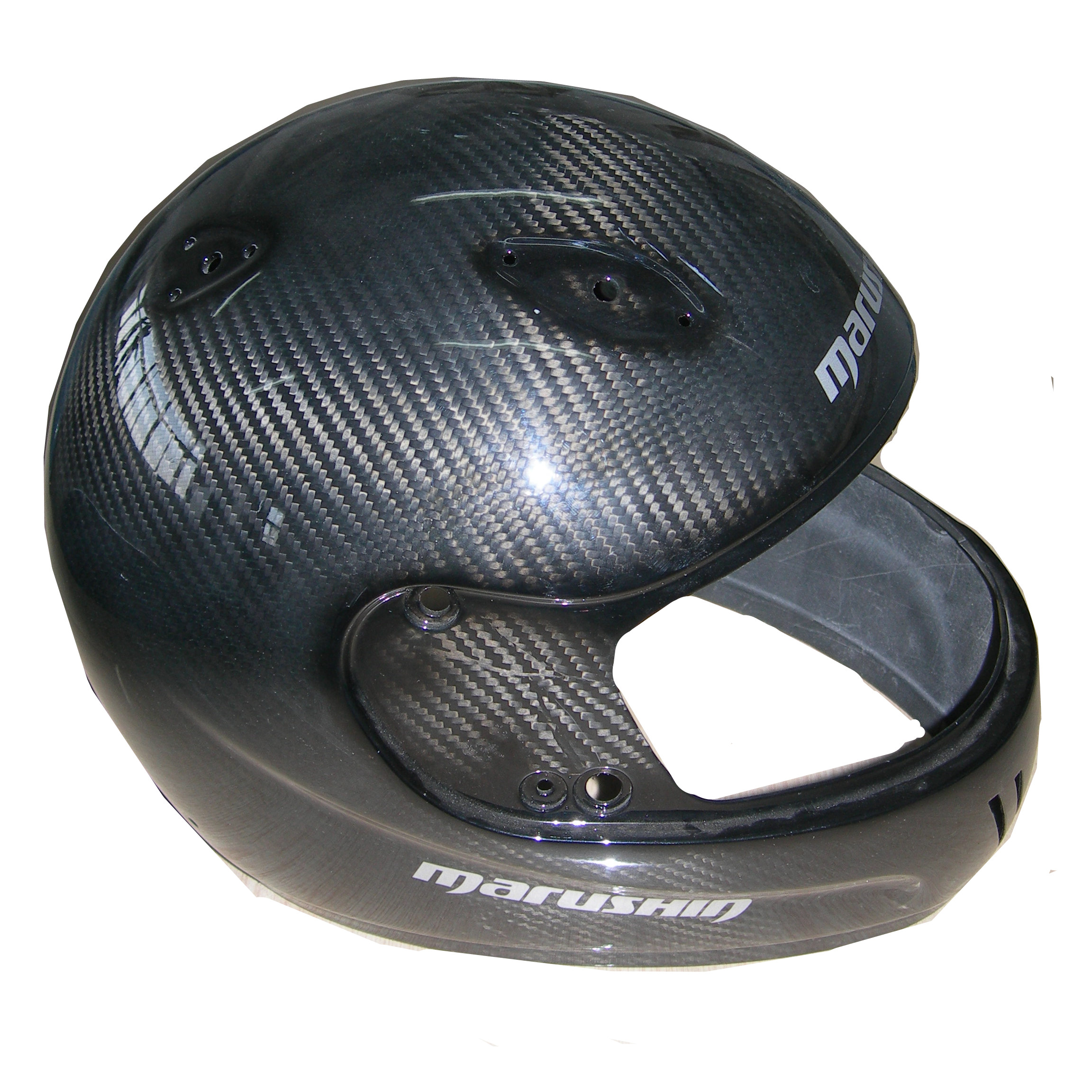 Customized carbon fiber helmet