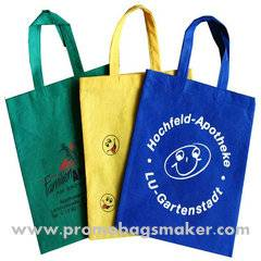 """Promotional Non-Woven Work Tote Bags 16""""w x 12""""h"""