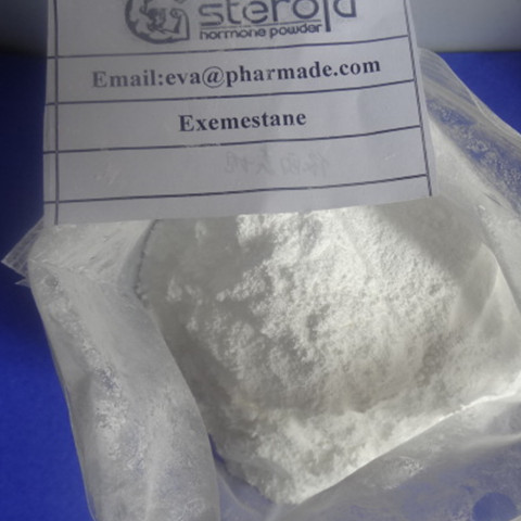 High purity Aromasin Anti Estrogen Steroids Powder Exemestane