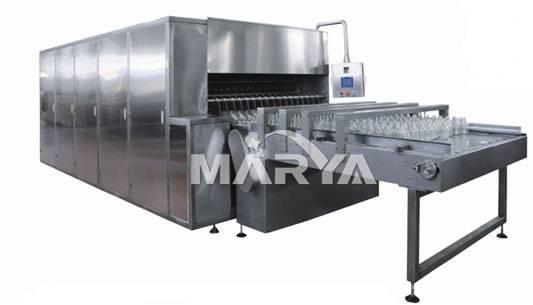 Ultrasonic Rough-washing Machine for Glass Bottle I.V. Solution Line