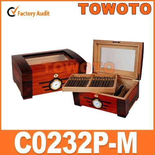Wooden Cigar Humidor (C0232P-M)
