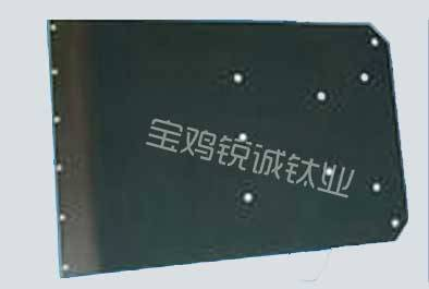 Titanium anode for recovering copper from etching liquid