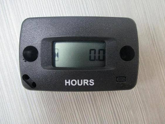 RL-HM018 Resettable Digital LCD Inductive Hour Meter Used For Any Gasoline Engine