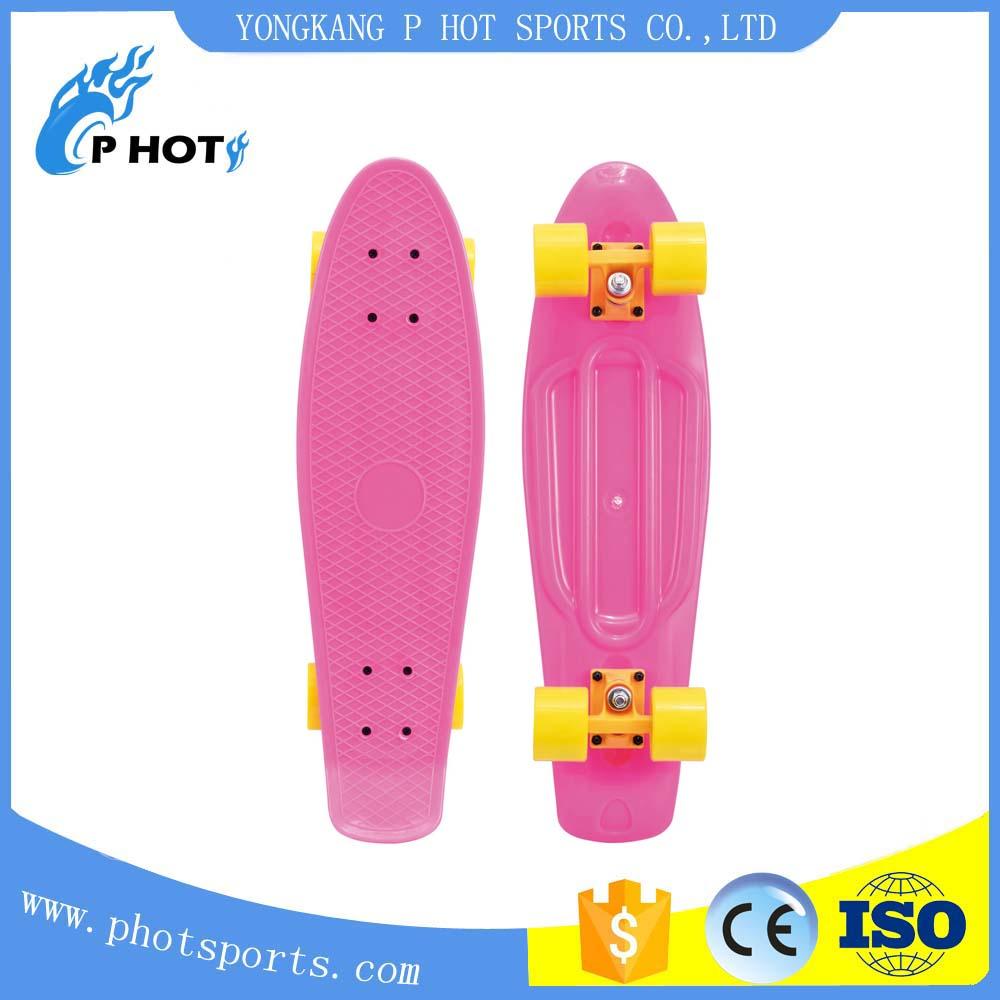 27 inch plastic PP fish board penny board skate board Blank skateboard decks
