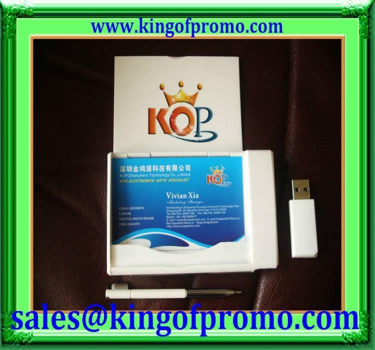 business card holder usb flash drive