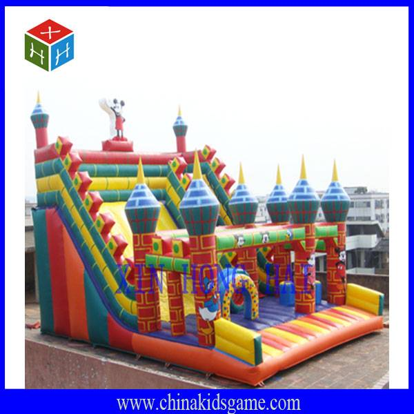 Outdoor children playgroudn Inflatable Castle, jump castle