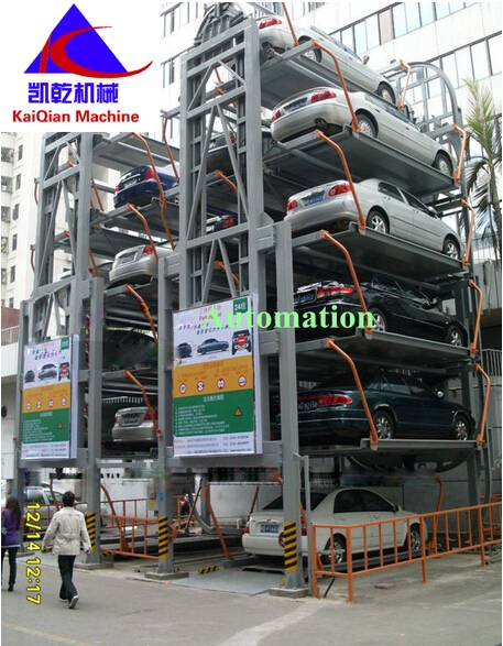 Mechanical Automated Smart Parking System-- Rotary Parking System