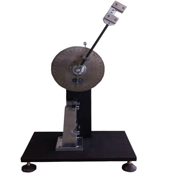 Dial Charpy impact testing equipment