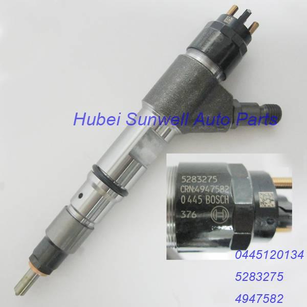 Foton Auman truck injector 0445120134 Cummins ISF3.8 injector 5283275