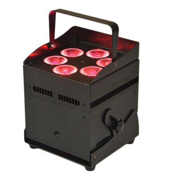 6X12W 4IN1 Battery Powered Wireless Uplight