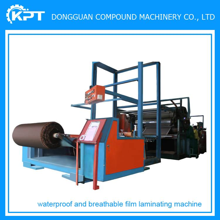 carpet fabric roll to roll laminating machine