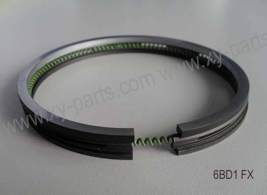 piston ring for Isuzu 6BD1