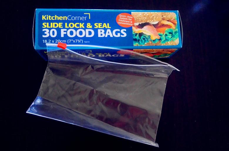 LDPE zipper bags, plastic zip lock bags