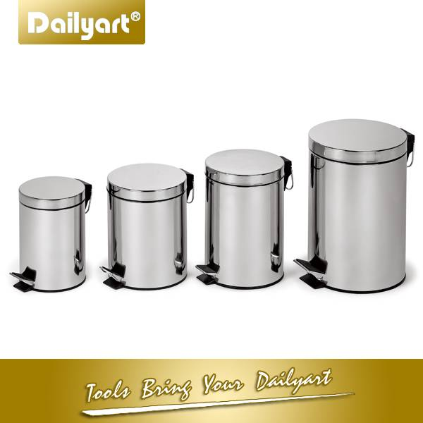 5 litres Classic Round Pedal dustbin