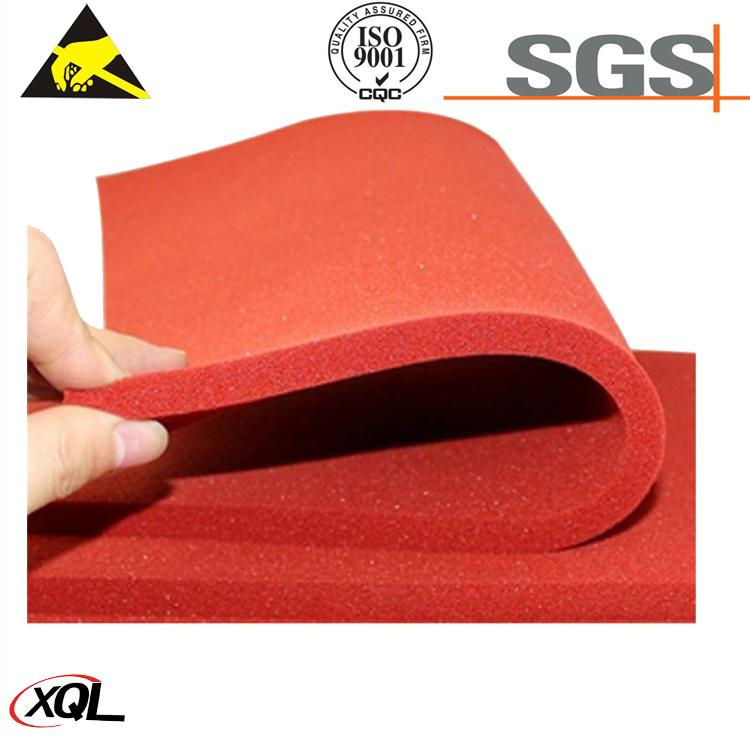 High Density Sponge Sheet Silicone Rubber Foam Sheet