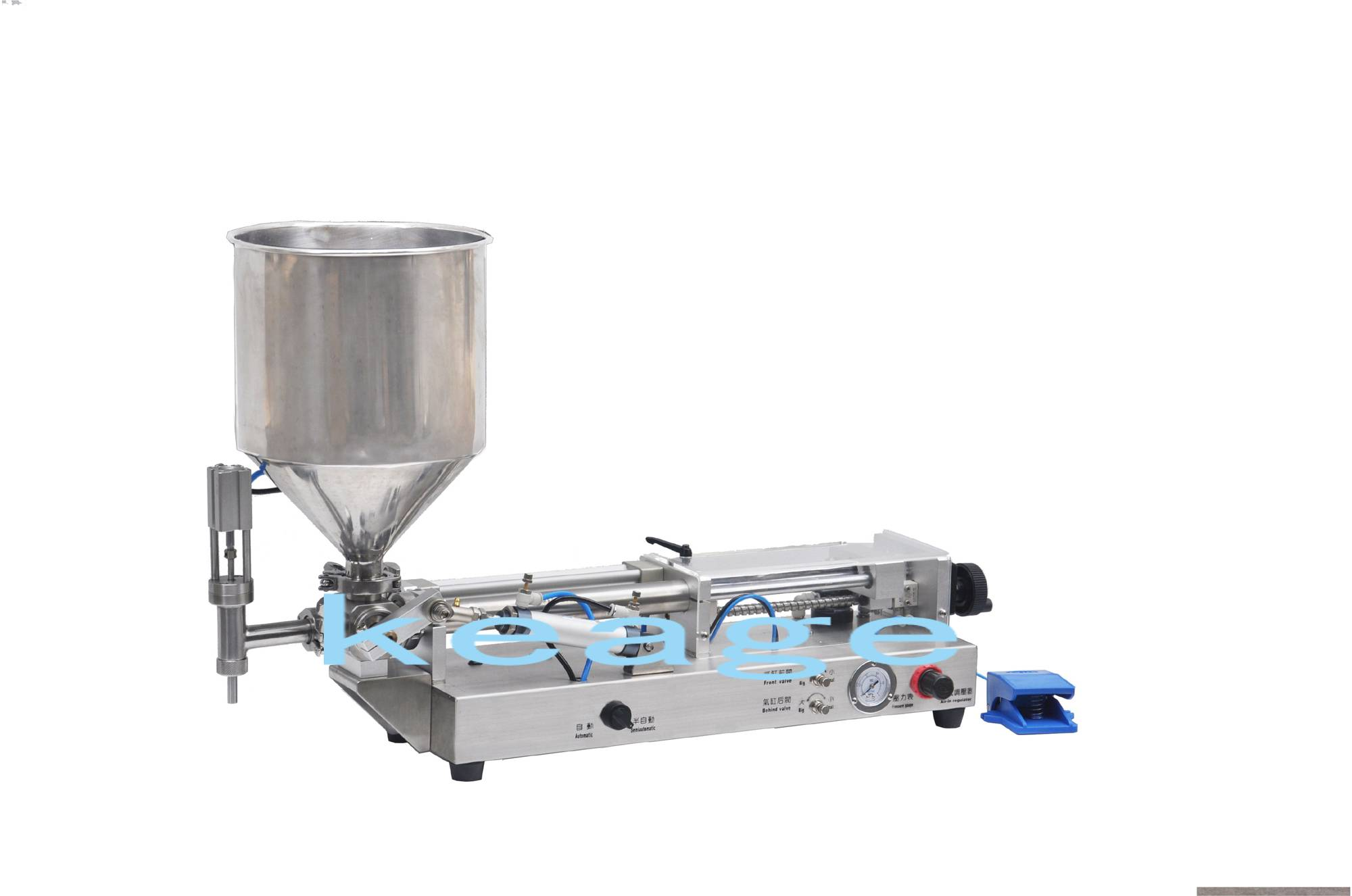 SBGG-120K All pneumatic liquid filling machine