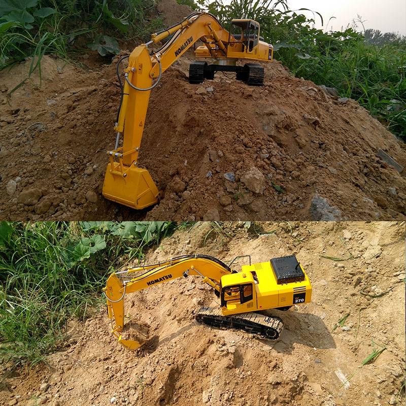 New 1:12 Hydraulic RC excavator model