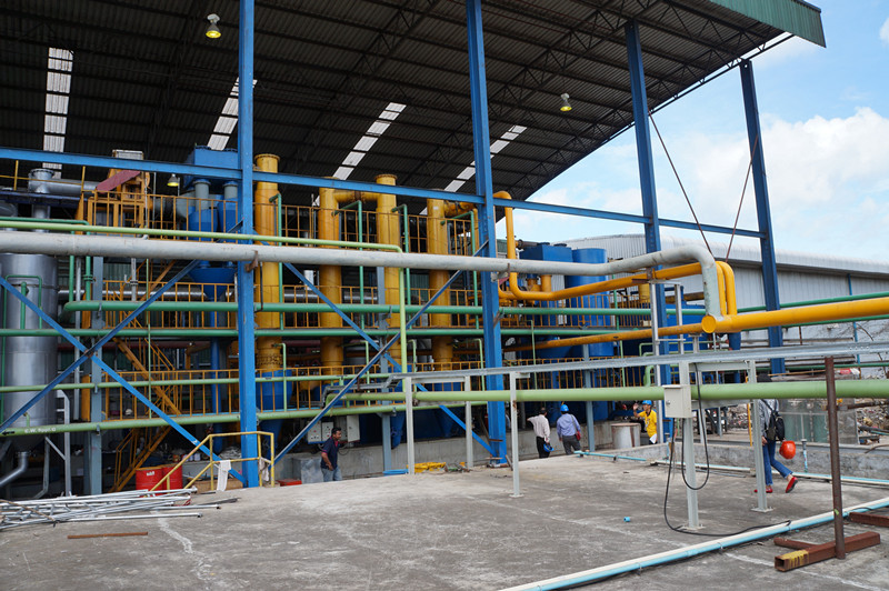 Wood Chips Gasification Power Plant
