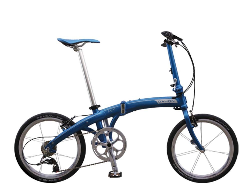 DaDahon Mu Ex Carribean Blue 92-2-53 Folding Bike Bicycle.... $1,000 USD