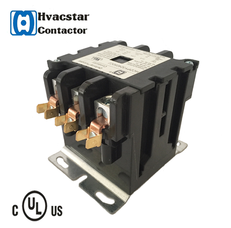 High Grade types of magnetic contactor 24V Coil UL Approved Electrical ac contactor