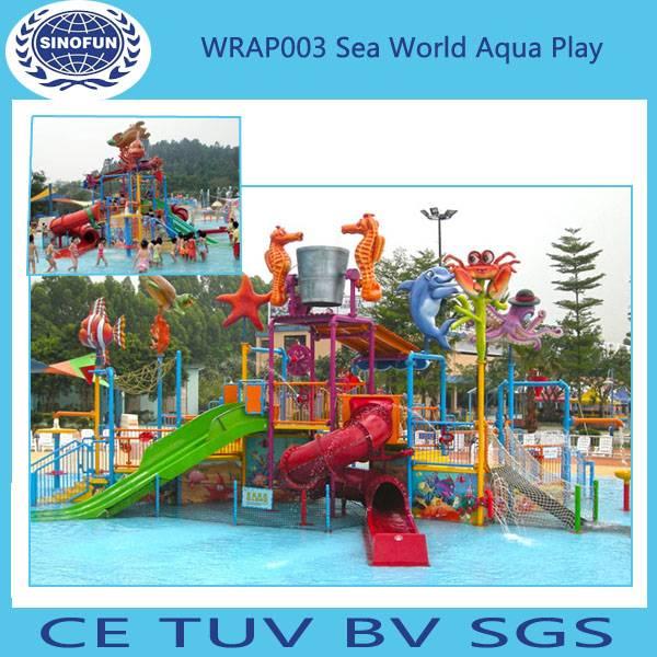 [Sinofun Rides]water playground for water park (water splash park)(water park equipment)