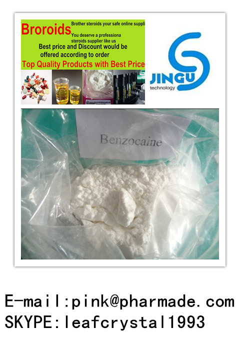 USP Assay 99% CAS 94-09-7 High Quality Benzocaine Powder 10g