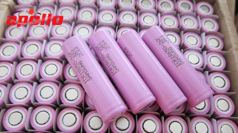 SAMSUNG li ion battery 2600mah rechargeable supplying