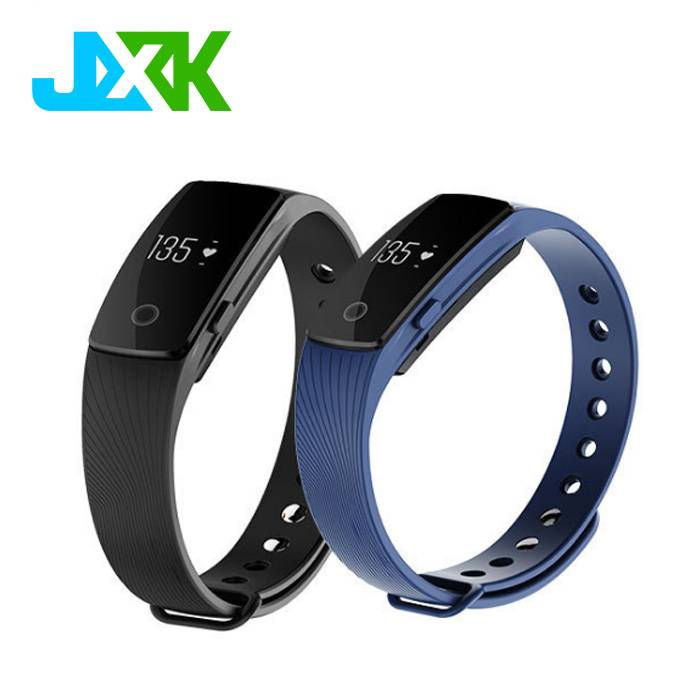 JXK Wearfit Andriod 4.4 IOS 8.0 Smart Watch Heart Rate Wristband with Blood Pressure Monitor M3 Pedo