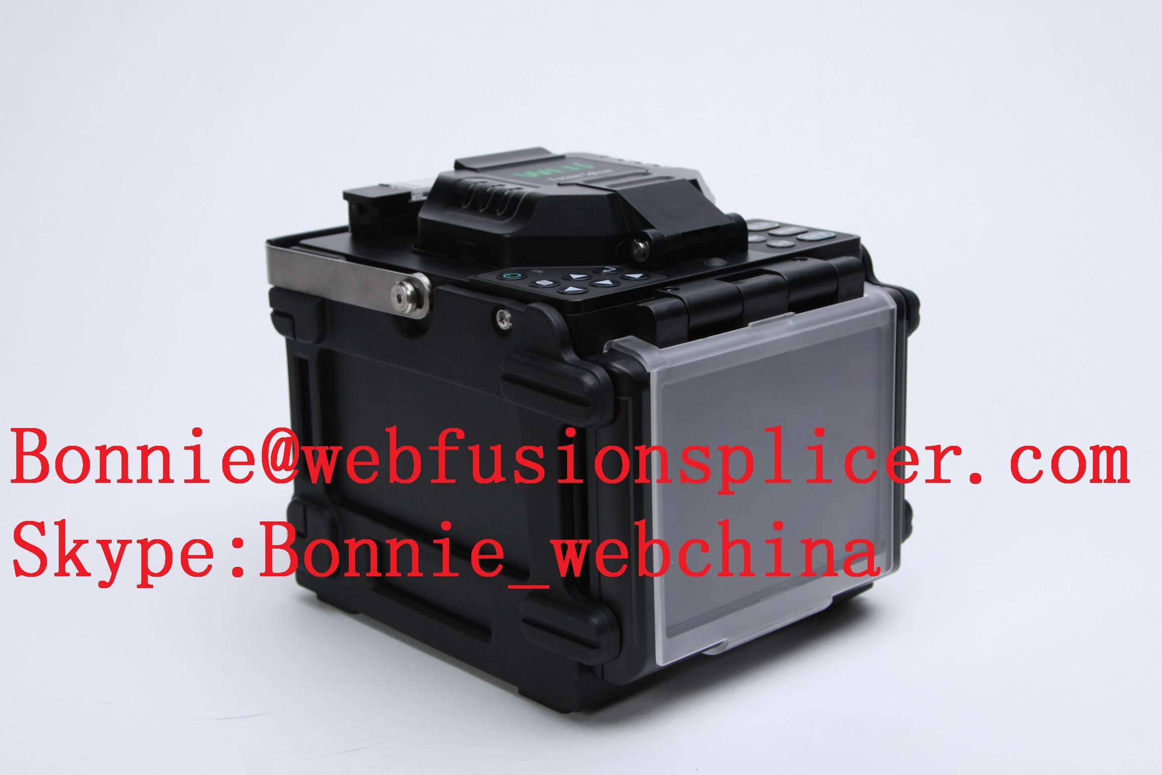 fiber optical adapter machine / fiber optic fusion splice device for telecommunication system
