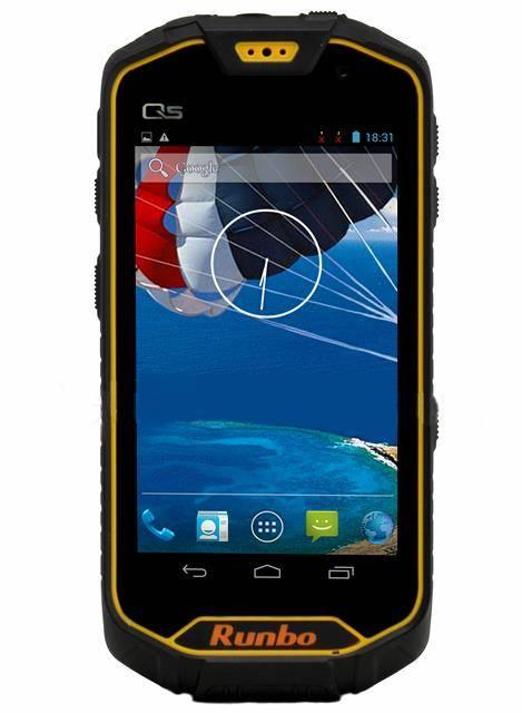 "Runbo Q5/ Rugged smartphone/ Unlocked/ Waterproof IP67/Shockproof /Dustproof/4.5"" IPS Gorilla/ Batte"