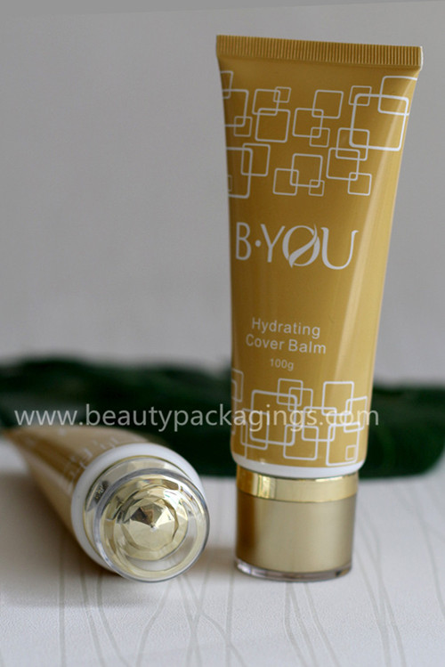 Luxury Crystal Acrylic Cover Cosmetic Tube