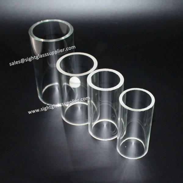 Clear Big Diameter Transparent Glass Tube
