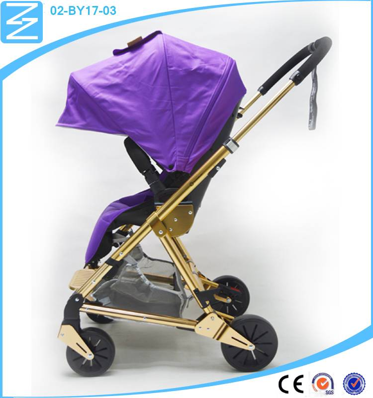 Easy Safety Portable Follow the comfortable Angle double baby stroller