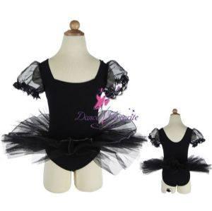 Child short puff sleeve ballet tutus